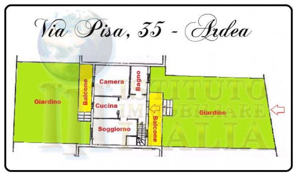 Vendita  bilocale Ardea Via Pisa 1 1004587