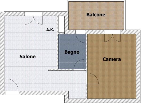 Vendita  bilocale Guidonia Montecelio Via Giuseppe Parini 1 1006103