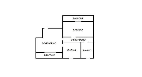 Vendita  bilocale Parabiago Via San Martino 1 1009896