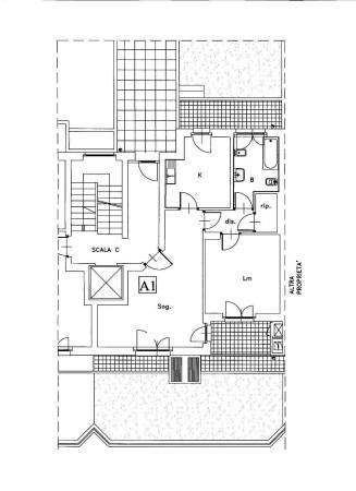 Affitto  bilocale Torino Via Fossata 1 1003095