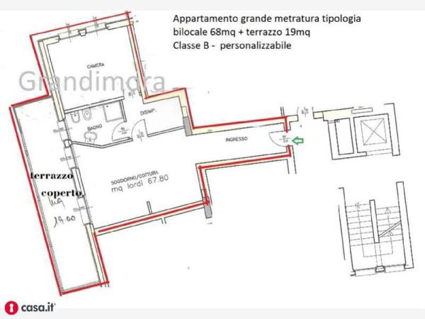Vendita  bilocale Bergamo  1 1013194
