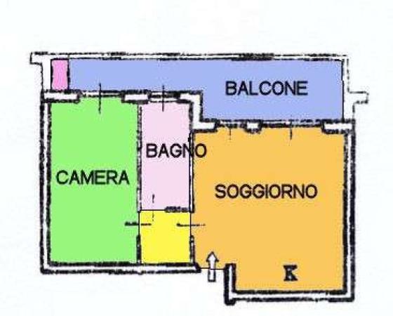 Vendita  bilocale Nerviano Via Sant'anna 1 1017546