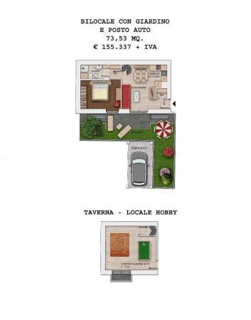 Vendita  bilocale Milano Via Seguro 1 1021552