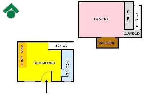 Vendita  bilocale Napoli Via San Antonio Abate 1 927522
