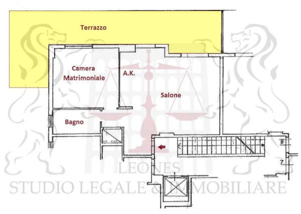 Vendita  bilocale Pomezia Via Colonia 1 1026391