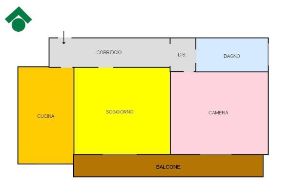Vendita  bilocale Rescaldina Via Landosco, 3 1 1057174
