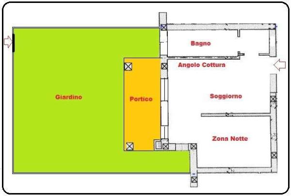 Vendita  bilocale Molinella Via Selva 1 1049524