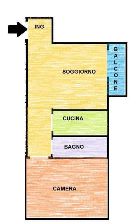 Vendita  bilocale Trezzano sul Naviglio Via Giuseppe Mazzini 1 1062597