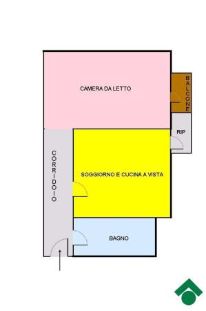 Vendita  bilocale Cesano Boscone Via Patellani, 10 1 1063809