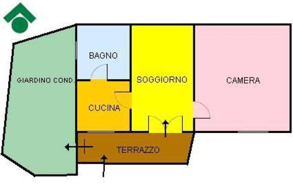 Vendita  bilocale Oulx Via Roma 1 1064679