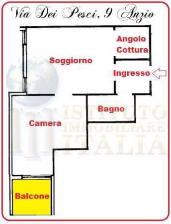 Vendita  bilocale Anzio Via Dei Pesci 1 1072697