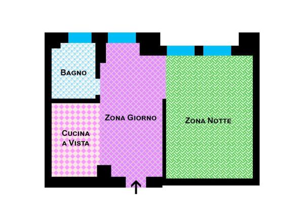 Vendita  bilocale Bologna Via Roncaglio 1 1004522
