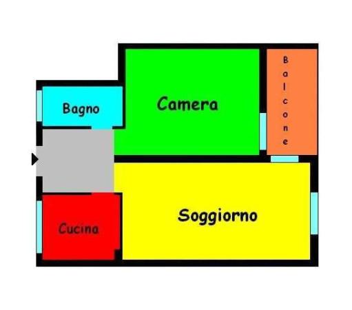 Vendita  bilocale Sesto San Giovanni Via Fratelli Di Dio 1 1075246
