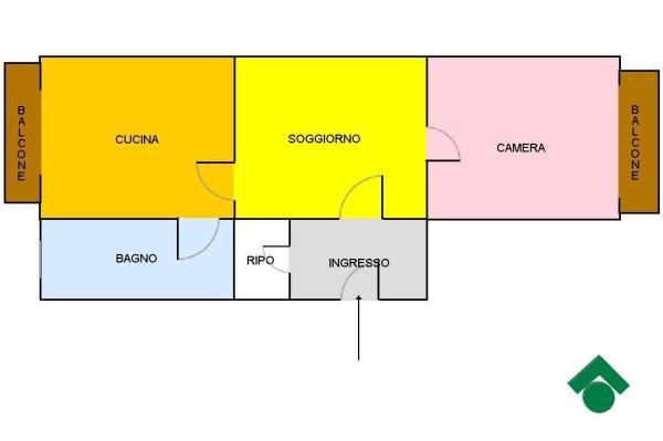 Vendita  bilocale Napoli Via Casanova, 106 1 1081531