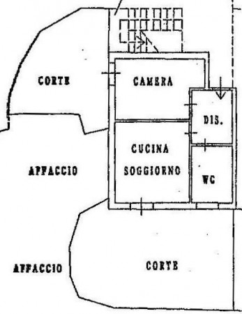 Vendita  bilocale Dolcedo Via Garibaldi 1 1087869