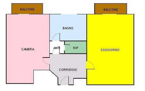 Vendita  bilocale Milano Via Ruggero Leoncavallo, 45 1 1087927