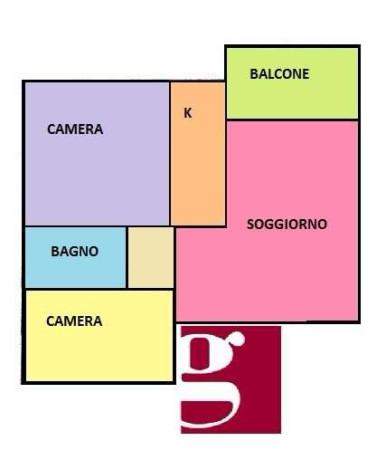 Vendita  bilocale Castelfranco Emilia Via I Carracci 1 1088400