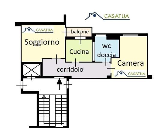 Affitto  bilocale Palermo Largo Villaura 1 1091131