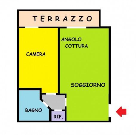 scheda annuncio | studio aldo immobiliare di suriano luigi - Soggiorno Angolo Cottura Arredamento 2