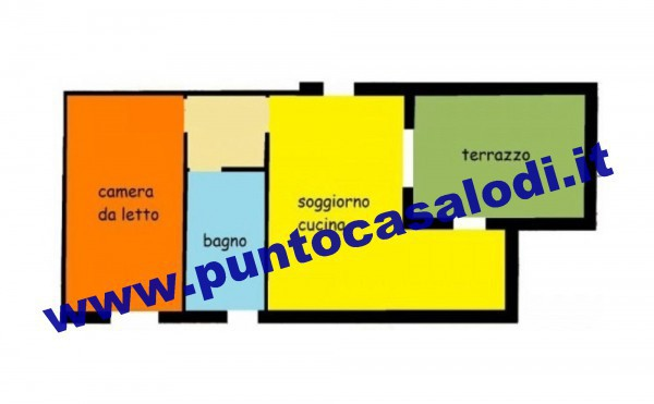 Vendita  bilocale Borghetto Lodigiano Borghetto Lodigiano 1 376651