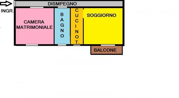 Vendita  bilocale Pozzuolo Martesana Via Gioacchino Rossini, 2 1 1188959
