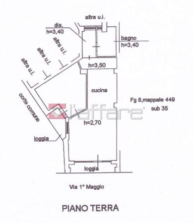 Vendita  bilocale Ponsacco Viale I Maggio 1 900014