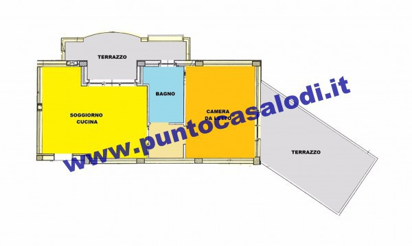 Vendita  bilocale Borgo San Giovanni Borgo San Giovanni 1 368935