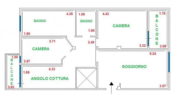 Appartamenti in affitto a aprilia in zona via apriliana for Appartamento affitto aprilia arredato