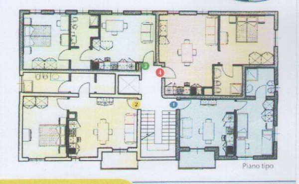 Affitto  bilocale Parma Viale Tanara 1 896292