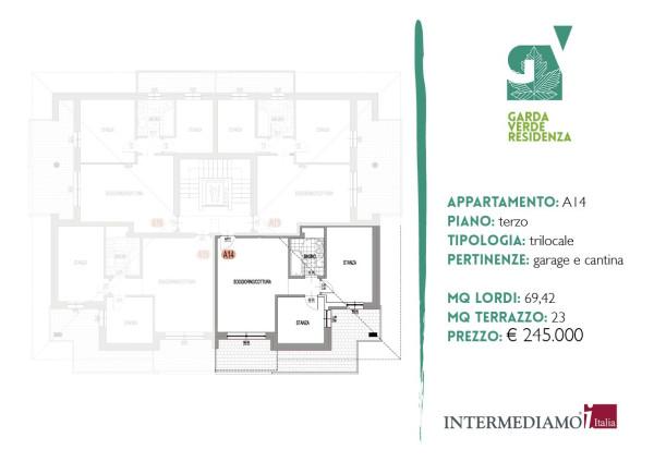 Foto attico/mansarda in vendita a Riva del Garda (Trento)