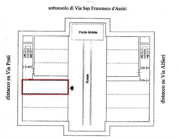 VIA SAN FRANCESCO D'ASSISI - POSTO AUTO IN AUTOSILO