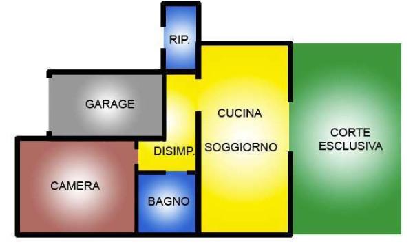 Vendita  bilocale Recoaro Terme Contrada Piazza 1 432873