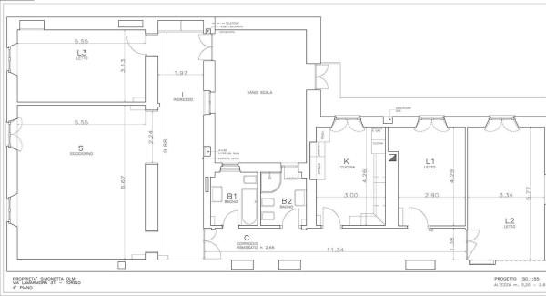 Appartamento in affitto a torino via alfonso lamarmora for Affitto torino privati non arredato