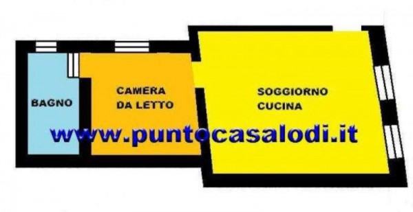 Vendita  bilocale Borghetto Lodigiano Borghetto Lodigiano 1 364234