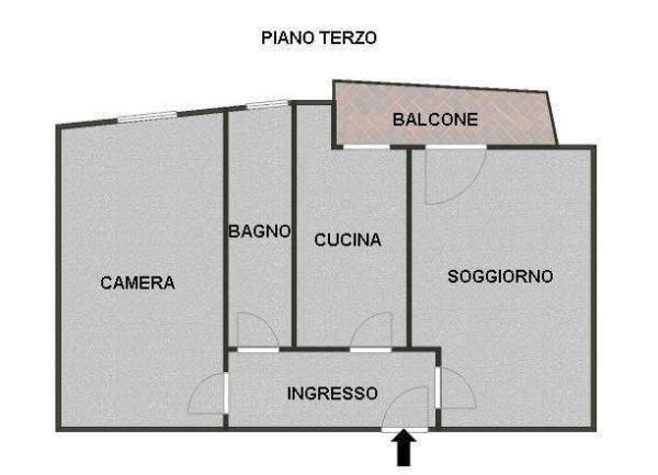 Vendita  bilocale Erba Via Ugo Foscolo 1 897025