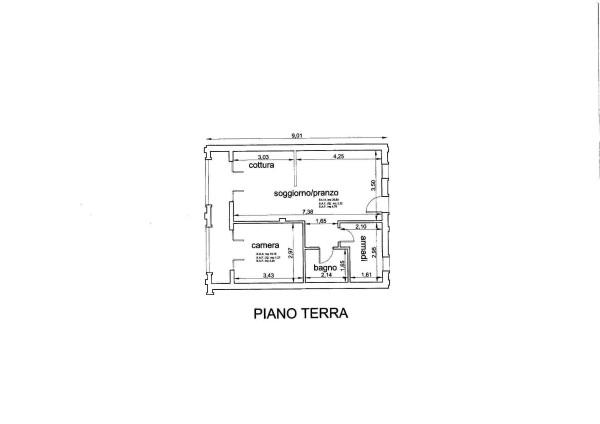 Vendita  bilocale Lucca Via Delle Gavine 1 896929
