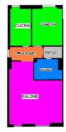Appartamento in ottime condizioni in vendita Rif. 4200367