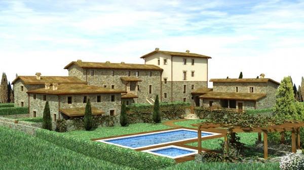 Vendesi intero Borgo in Toscana - zona Montalcino in stato avanzato di recupero e con possibilità d