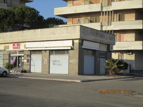 Locale commerciale di 68mq interni e 90mq esterni, a Tarquinia Lido