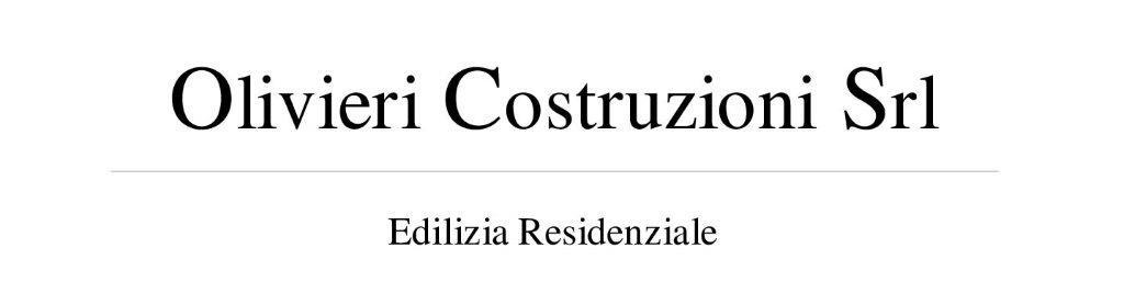 OLIVIERI COSTRUZIONI S.R.L.