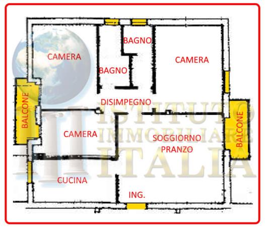 Foto 14 di Appartamento Via A.Zara 2, Imola