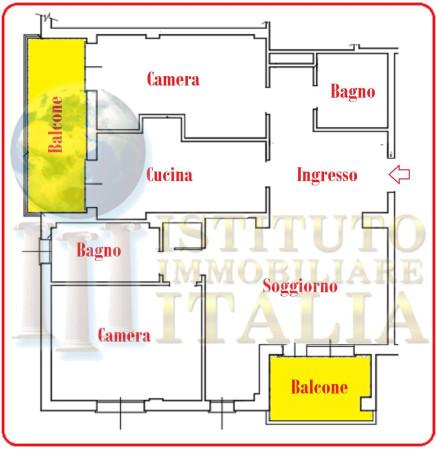 Foto 12 di Quadrilocale Via Giacomo Puccini 55, Imola